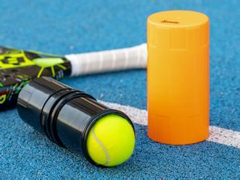 Spralla® Trykkbeholder til padel- og tennisballer