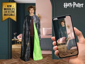Harry Potter usynlighetskappe