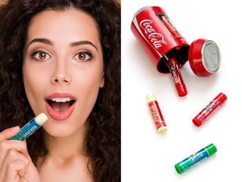 Lip Smacker Coca Cola leppepomade 6-pakning