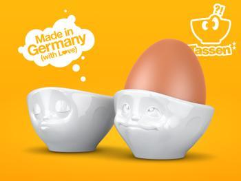Tassen eggeglass, 2 pack