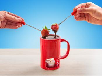 KitchPro fondue-krus
