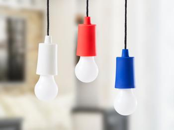LED-lampe i snor fra Spralla