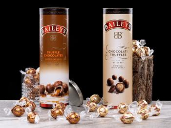 Baileys-trøfler i gaveeske
