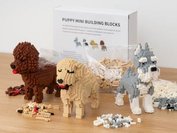 Hundevalg Mini 3D-byggesett