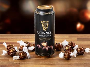 Guinness-trøfler i boks