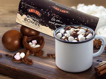 Baileys sjokoladebomber for kakao 3-pakning