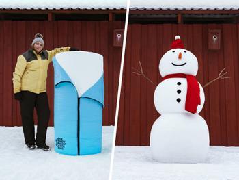 Snøskulptursekken