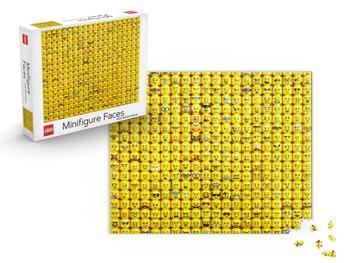 Lego Minifigure Faces-puslespill 1000 brikker