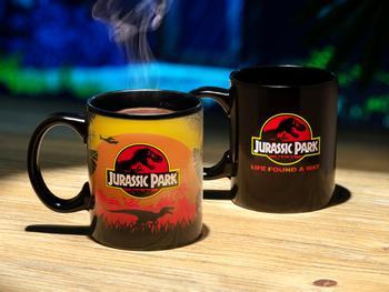 Jurassic Park fargeskiftende krus