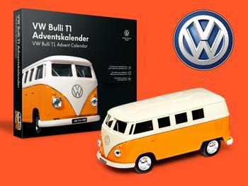 Volkswagen-folkevognbuss julekalender