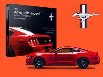 Ford Mustang GT-julekalender