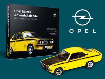 Opel Manta-julekalender