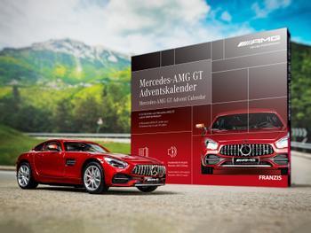 Mercedes-AMG GT-julekalender