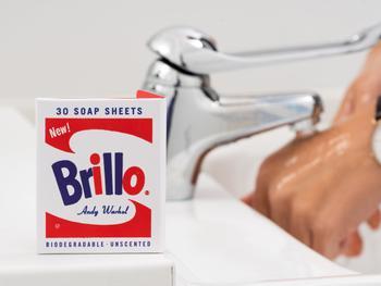 Andy Warhol Brillo såpeark