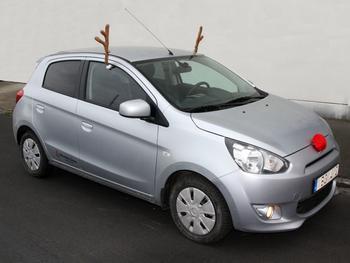 Rudolfkostyme til bil